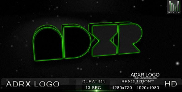 After Effects Project - VideoHive ADRX Logo 1086390