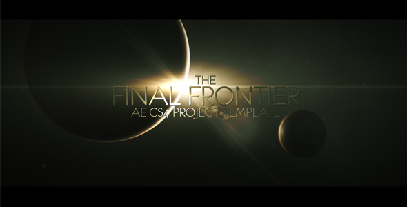 After Effects Project - VideoHive The Final Frontier 134410