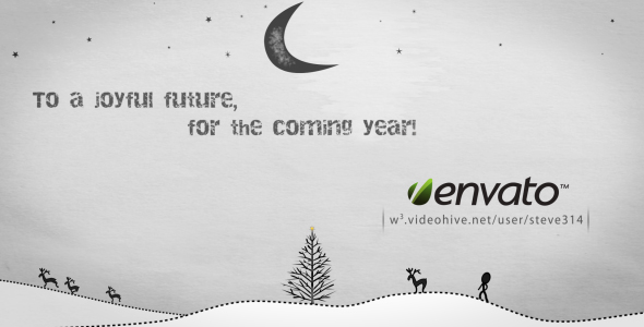 After Effects Project - VideoHive Inkman presents Xmas & New year's Greetin ...