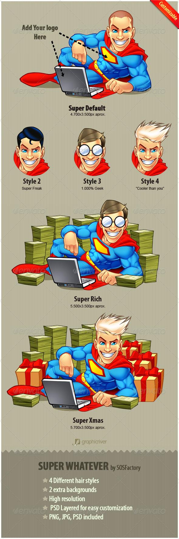 GraphicRiver Super Whatever 135208