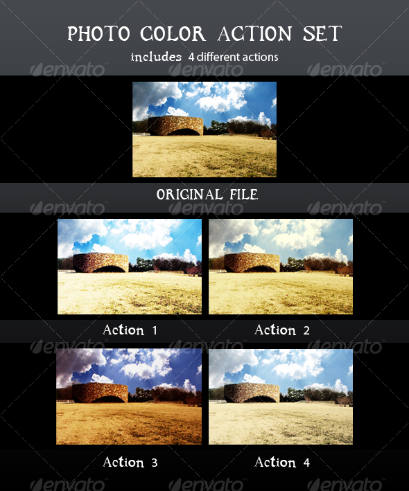 GraphicRiver Photo Color Action Set 44835