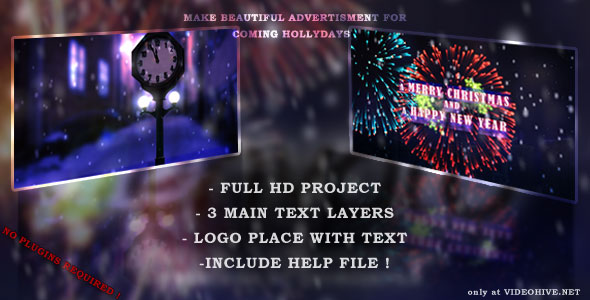 After Effects Project - VideoHive Happy New Year Intro 135641