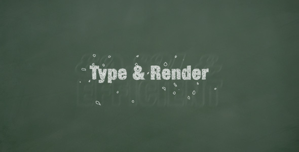 After Effects Project - VideoHive Chalk titles 135667