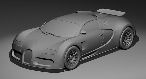 TutsPlus Modelling the Bugatti Veyron in Maya Day 1 135781