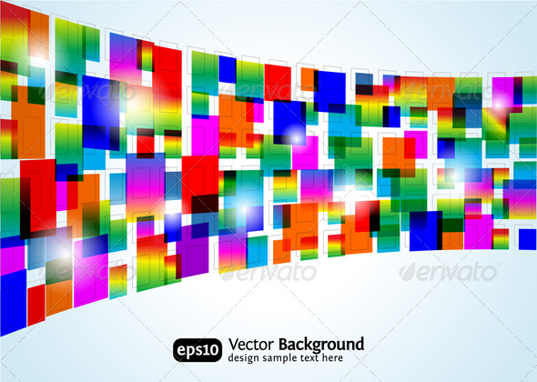 Graphic River Abstract colorful background Vectors -  Conceptual  Business  Backgrounds 135916