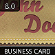 Ribbon Business Card - GraphicRiver Item for Sale