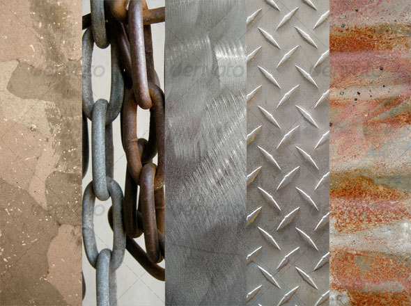 GraphicRiver Metal Texture Pack 2 36042