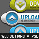 12 3D Web Buttons - GraphicRiver Item for Sale
