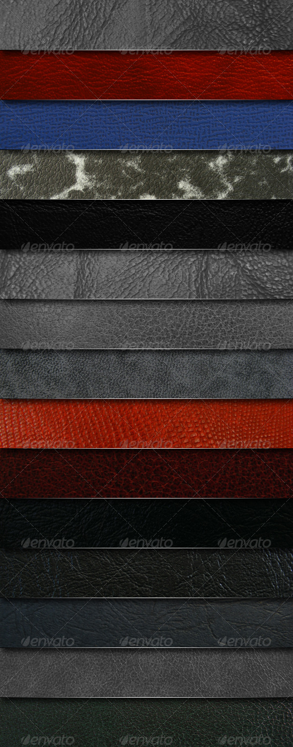 GraphicRiver Mega pack 15 leather textures 136325