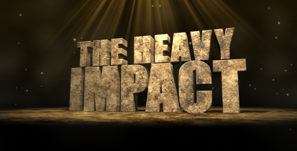 After Effects Project - VideoHive The Heavy Impact 136475
