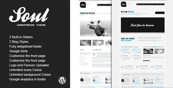 ThemeForest SOUL Premium WordPress Theme 1104135