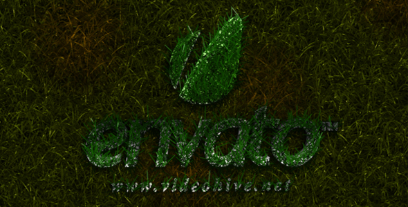 After Effects Project - VideoHive Grass Logo Reveal 136913