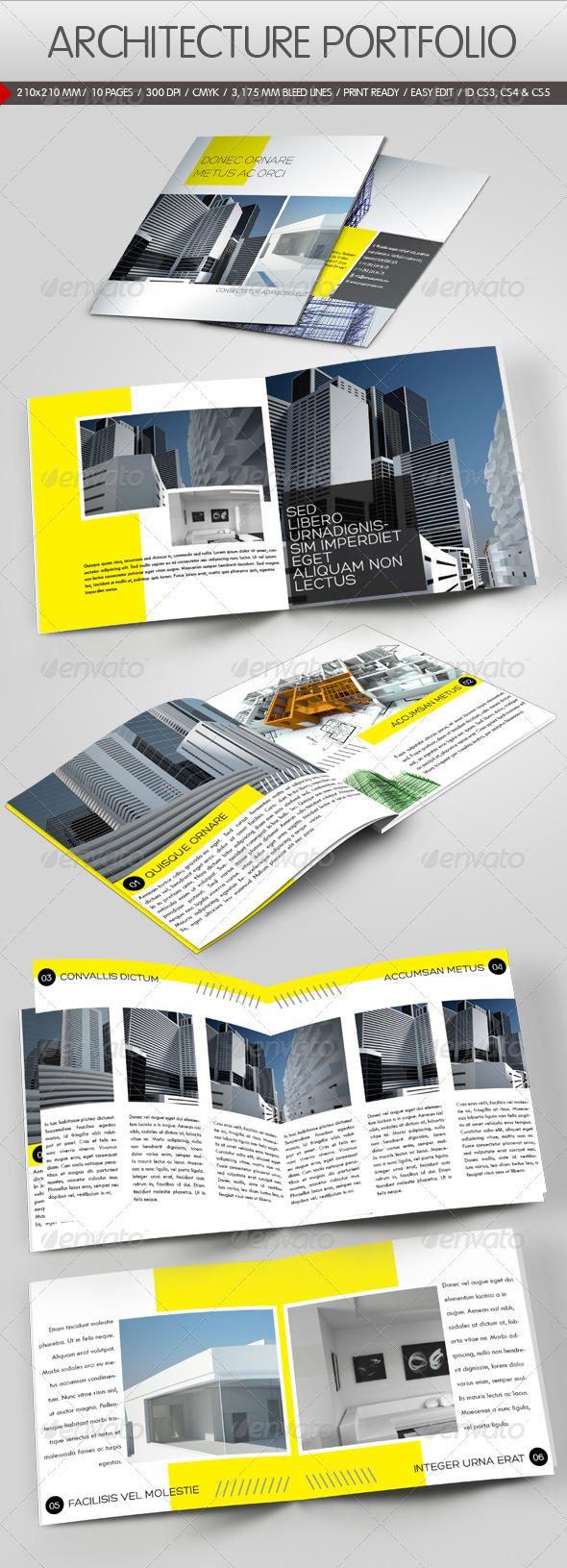 GraphicRiver Construction Company Brochure 670197