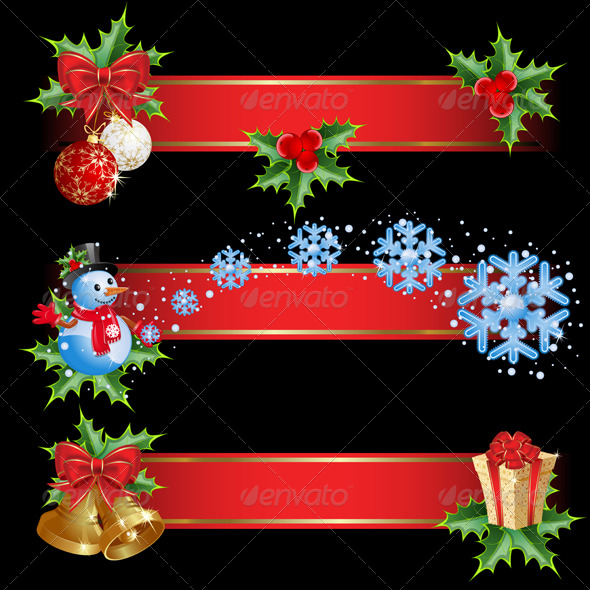 GraphicRiver Christmas Banners 137417