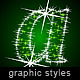 Illustrator Graphic Styles. Stars Deco - GraphicRiver Item for Sale