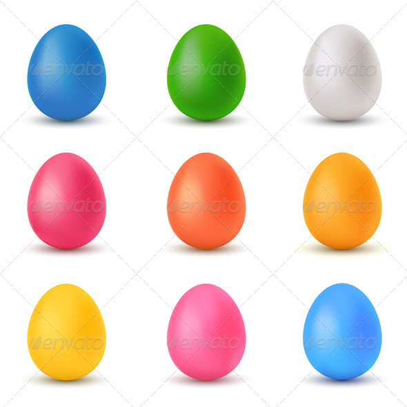 GraphicRiver Easter Eggs 137431