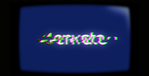 After Effects Project - VideoHive Retro display logo reveal 137615