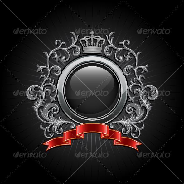 Graphic River Coat of Arms Vectors -  Decorative  Decorative Symbols 137660