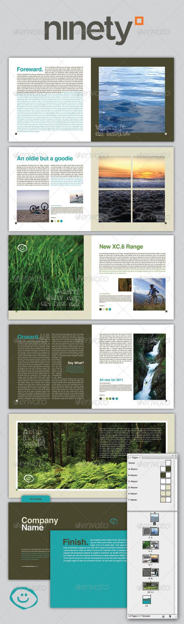 GraphicRiver Generic Brochure 137868
