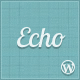 Echo: Clean and Simple WordPress Portfolio Theme - ThemeForest Item for Sale