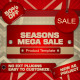 Seasons Mega Sale Template - VideoHive Item for Sale