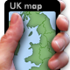 Clickable UK Map - XML - v.1 - ActiveDen Item for Sale
