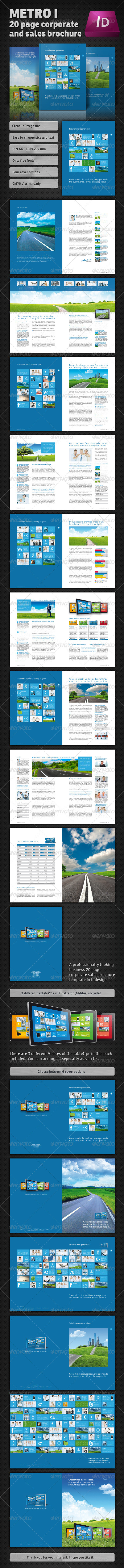 GraphicRiver Metro I Brochure 1120991