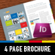 Strategic 4 Page Corporate Brochure - GraphicRiver Item for Sale