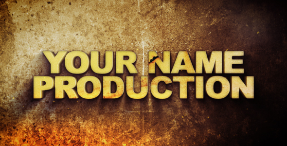 After Effects Project - VideoHive Hot Metal Grunge open titles 136720