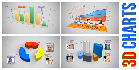 VideoHive 3D Charts 1125187