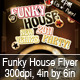 Funky House Party/Club Flyer - GraphicRiver Item for Sale