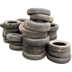 Stack of old tires - GraphicRiver Item for Sale