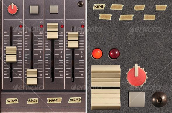 GraphicRiver Mixer elements 46097