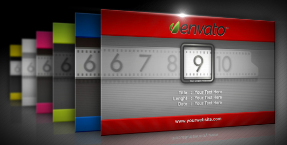 After Effects Project - VideoHive Film Counter Countdown 138090