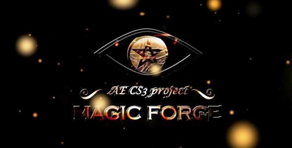 After Effects Project - VideoHive Magic Forge CS3 Full HD 138350
