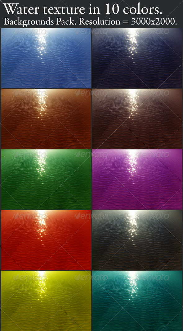 GraphicRiver Water textures 139666