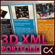 3D XML Portfolio - ActiveDen Item for Sale