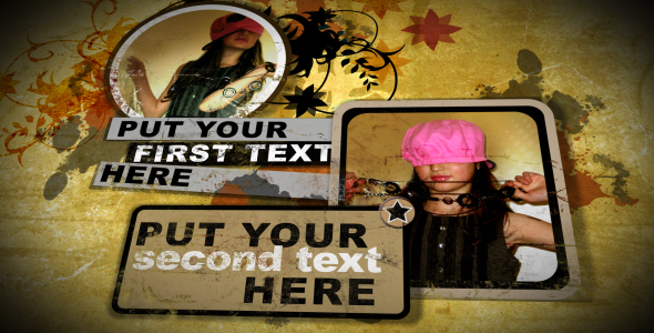 After Effects Project - VideoHive grunge billboard intro 139857