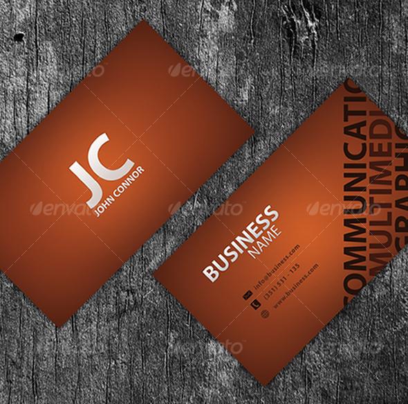 GraphicRiver Template Business Card V2 46358