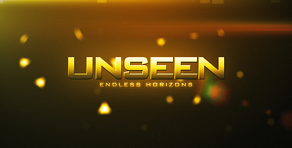 After Effects Project - VideoHive Unseen Beyond The Horizon 140669