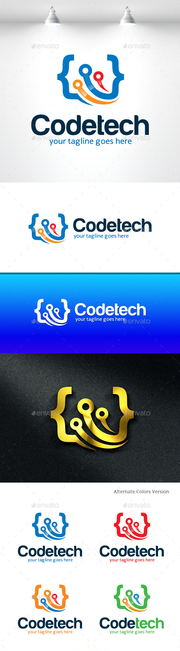 Well designed technology logos