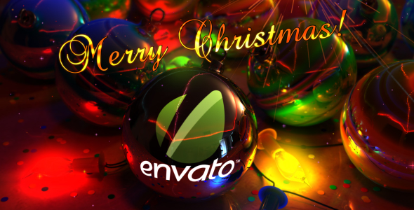 After Effects Project - VideoHive Christmas Balls Greeting 140812
