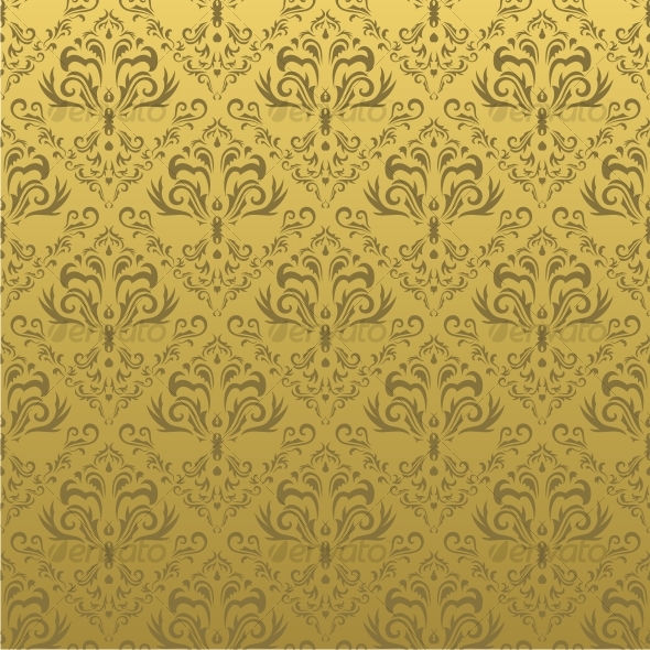 GraphicRiver Seamless floral background 46655