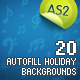 20 Autofill Holiday Backgrounds AS2 - ActiveDen Item for Sale
