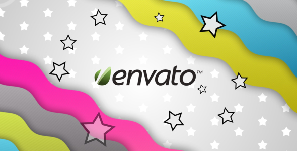 After Effects Project - VideoHive Colorful Wave 141487