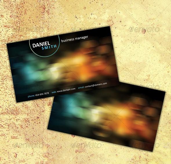 GraphicRiver Business Card No 3 46715