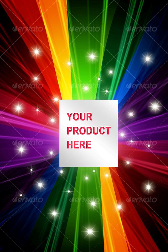 GraphicRiver Colored Product Presentation #2 35988
