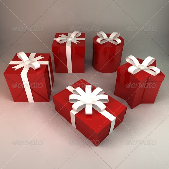 3DOcean Gift Boxes 141876