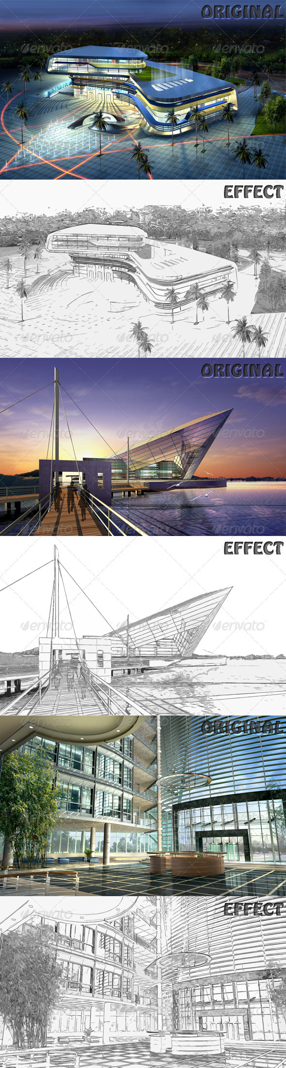 GraphicRiver Sketch Effect 1153360