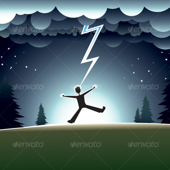 GraphicRiver Lightning Strikes 46841